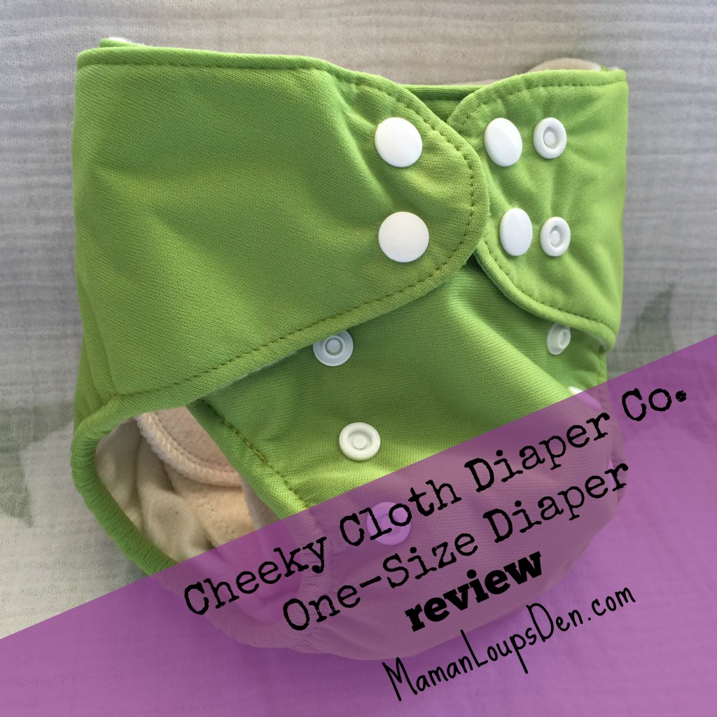 Cheeky Diaper Co. One-Size Diaper Review