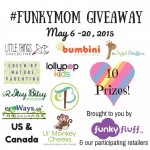 #FunkyMom Mother's Day Giveaway from Funky Fluff & Participating Retailers!
