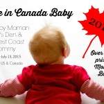 Made in Canada Baby 2015 Giveaway