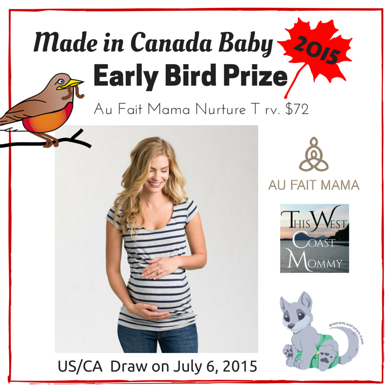 Made in Canada Baby Early Bird Prize