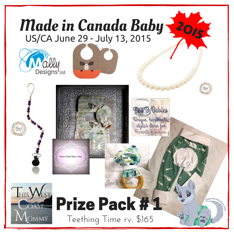 Made in Canada Baby Prize Pack 1