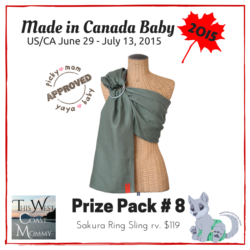 Made in Canada Baby Prize Pack 8