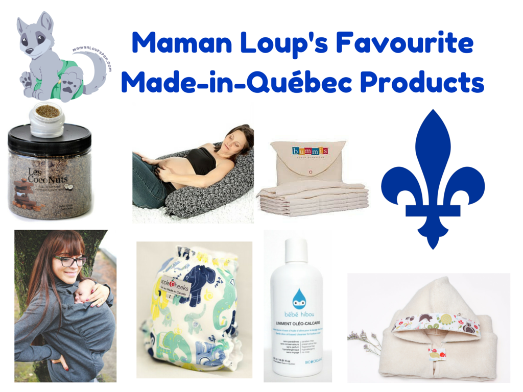 Maman Loup's Favourite Made-in-Québec Products! Bonne St-Jean!
