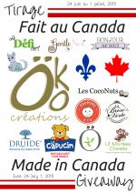 Tirage Fait au Canada de Öko Créations