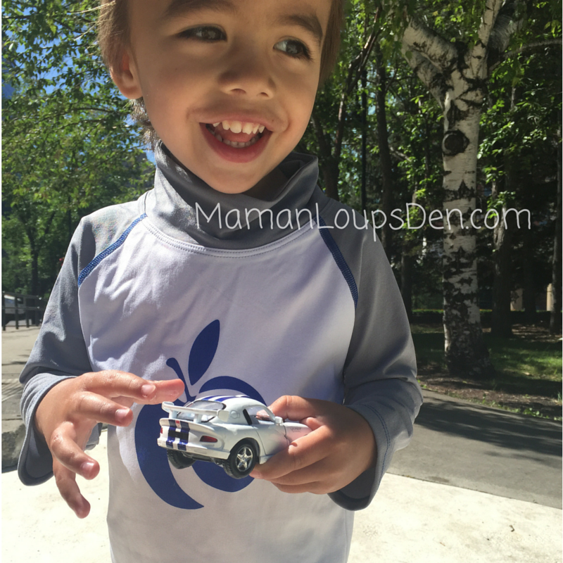 AppleCheeks Swim Shirt Review Smiley Cub