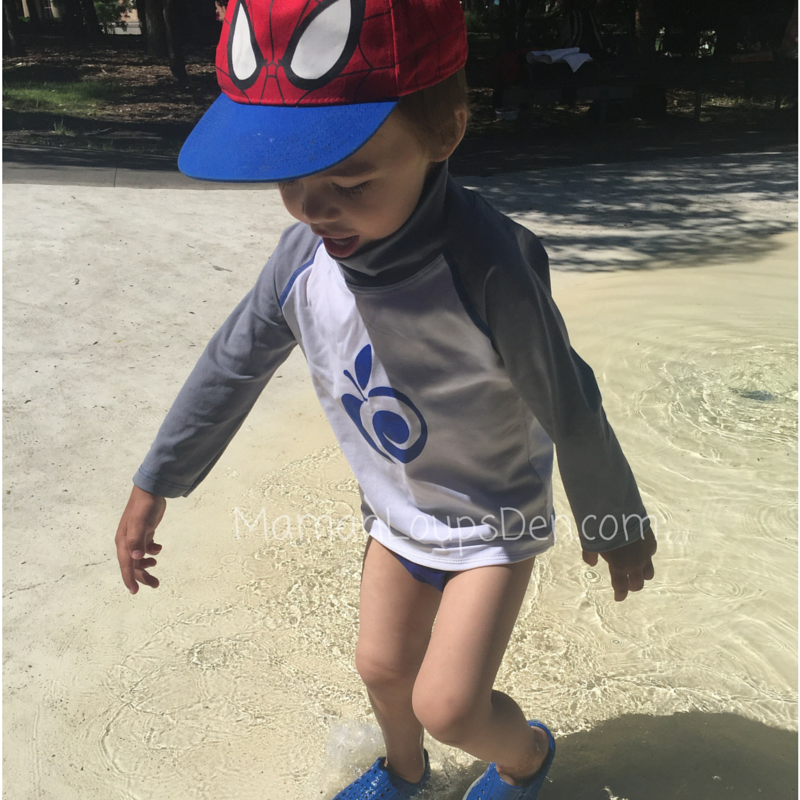 AppleCheeks Swim Shirt Review Splashy Cub