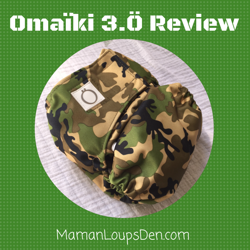 Omaïki 3.Ö Three-in-One Cloth Diaper Review