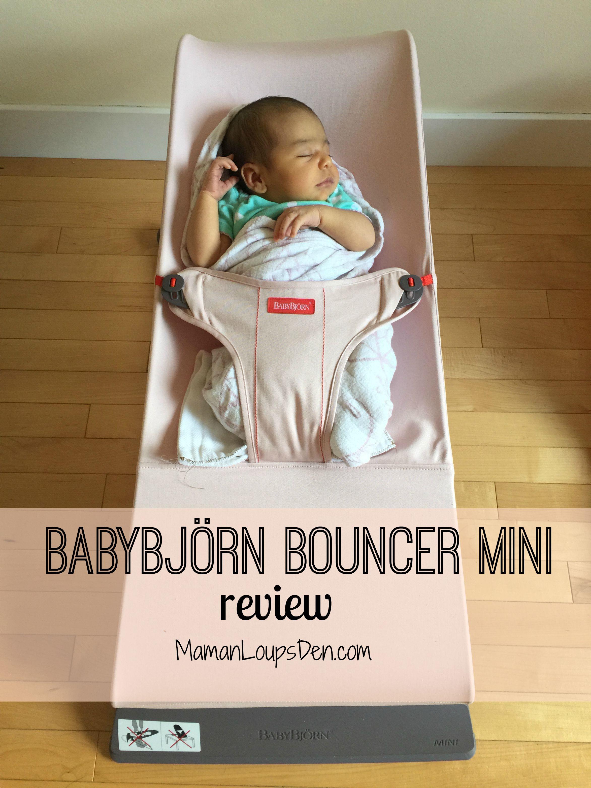 Babybj 246 Rn Bouncer Mini A Newborn Essential