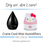 Dry air, don't care! ~ Crane Cool Mist Humidifiers Review