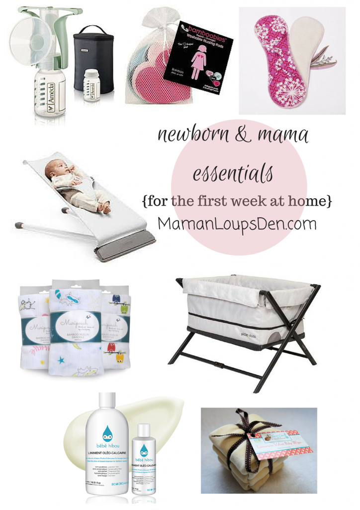 Newborn & Mama  Essentials for the First Week at Home