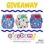 Cozy Bums Frugi Print TotsBots Giveaway #ClothDiaperCombos