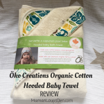 Öko Creations Hooded Organic Cotton Baby Bath Towel Review