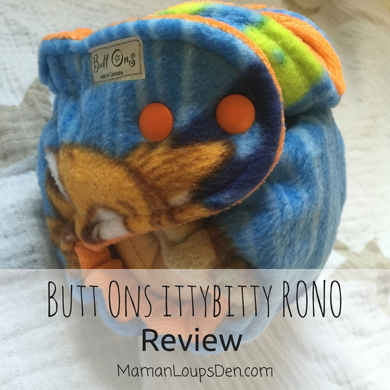 Butt-Ons IttyBitty RONO Hybrid Fitted Review