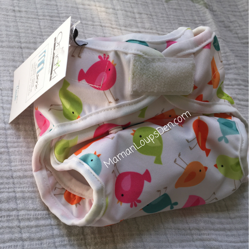 Omaïki Ö Sleep Newborn Diaper & Cover Review ~ Maman Loup's Den