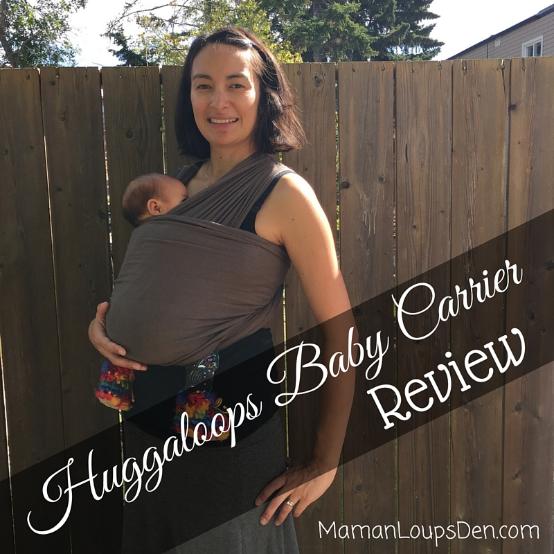 The Huggaloops Baby Carrier: My SAHM Sanity Saver