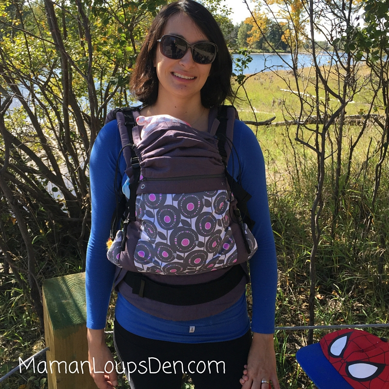 Liliputi Soft Baby Carrier Review ~ Maman Loup's Den ~ Front View