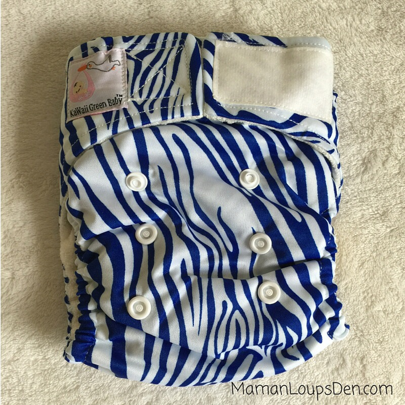 Kawaii Newborn Pocket Diapers Review ~ Maman Loup's Den
