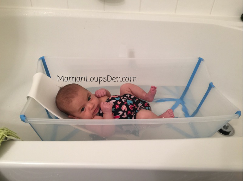 Stokke Flexi Bath Review ~ Maman Loup's Den