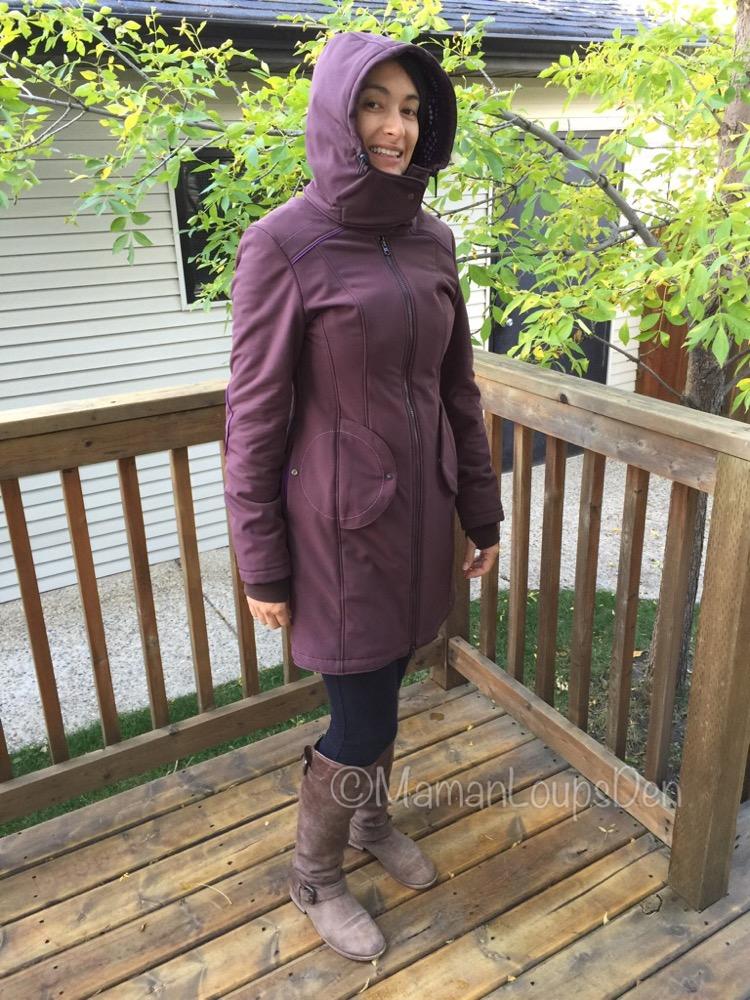 Liliputi Mama Coat Review | Maman Loup's Den