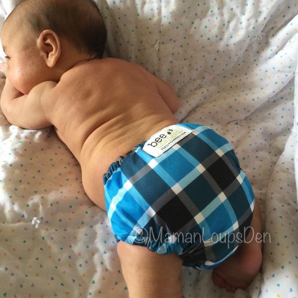 The Little Bee Co. Cloth Diapers Review ~ Maman Loup's Den