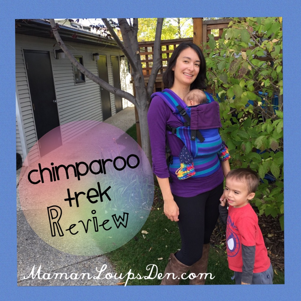 Chimparoo TREK Baby Carrier Review ~ Maman Loup's Den