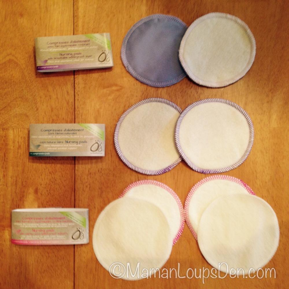 Öko Nursing Pad Styles
