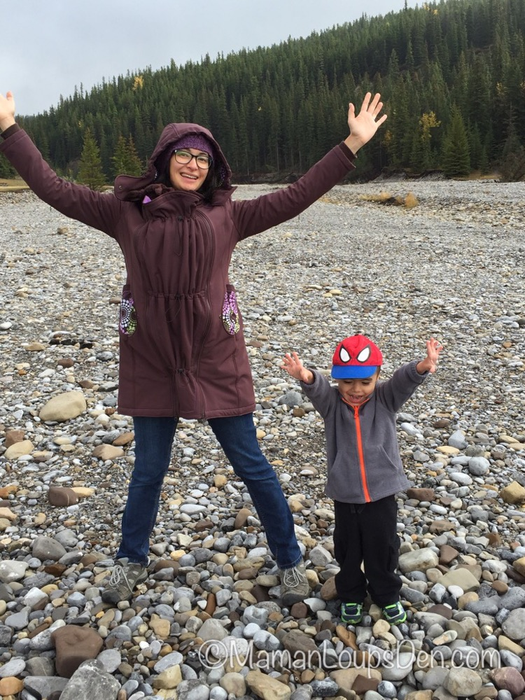Liliputi Babywearing Mama Coat Review ~ Maman Loup's Den