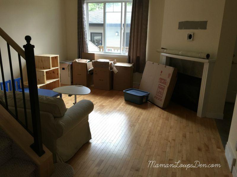 moving day at Maman Loup's Den