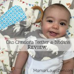 Öko Creations Bibdana & Teether Review