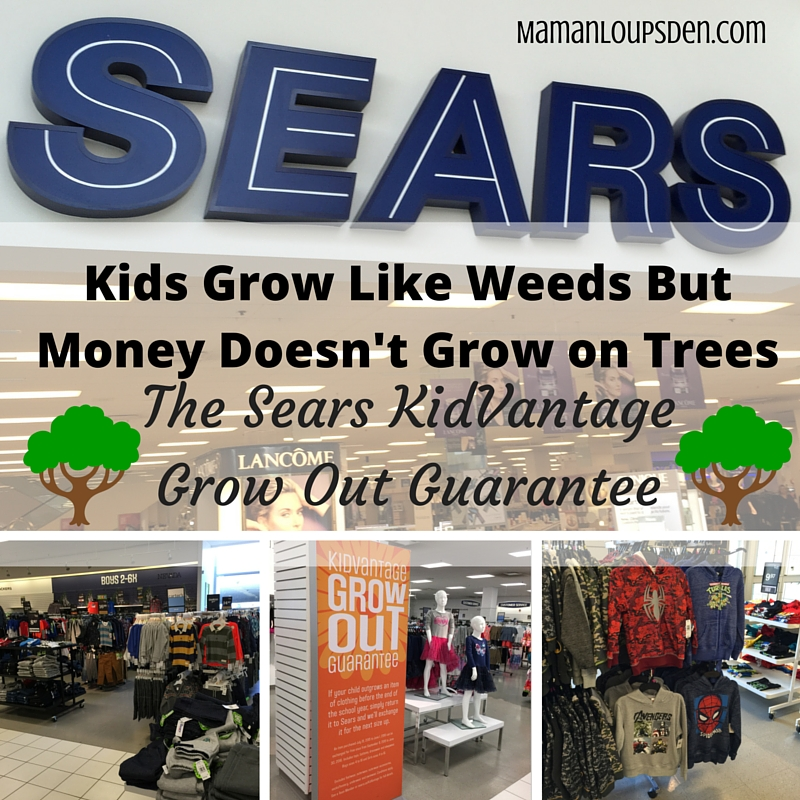 The KidVantage Grow Out Guarantee - Maman Loup's Den