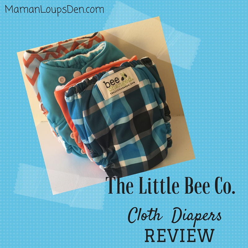 The Little Bee Co. Cloth Diapers Review