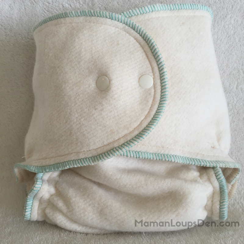 Babee Greens One-Size Fitted Cloth Diaper Review ~ Maman Loup's Den