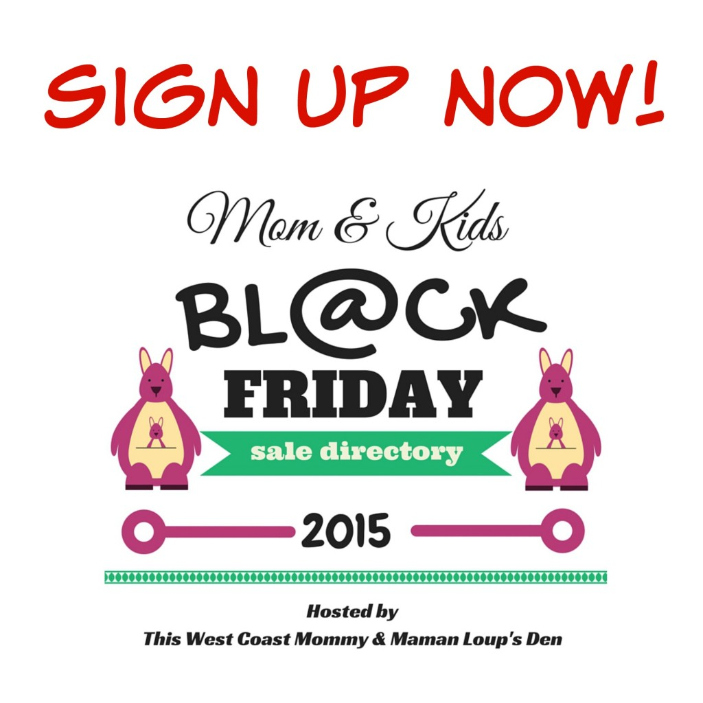 Black Friday Sales Directory Sign Up 2015