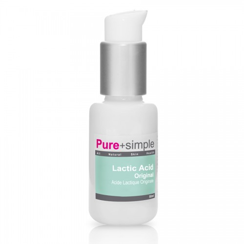 #GMCBeauty Pure+Simple Lactic Acid