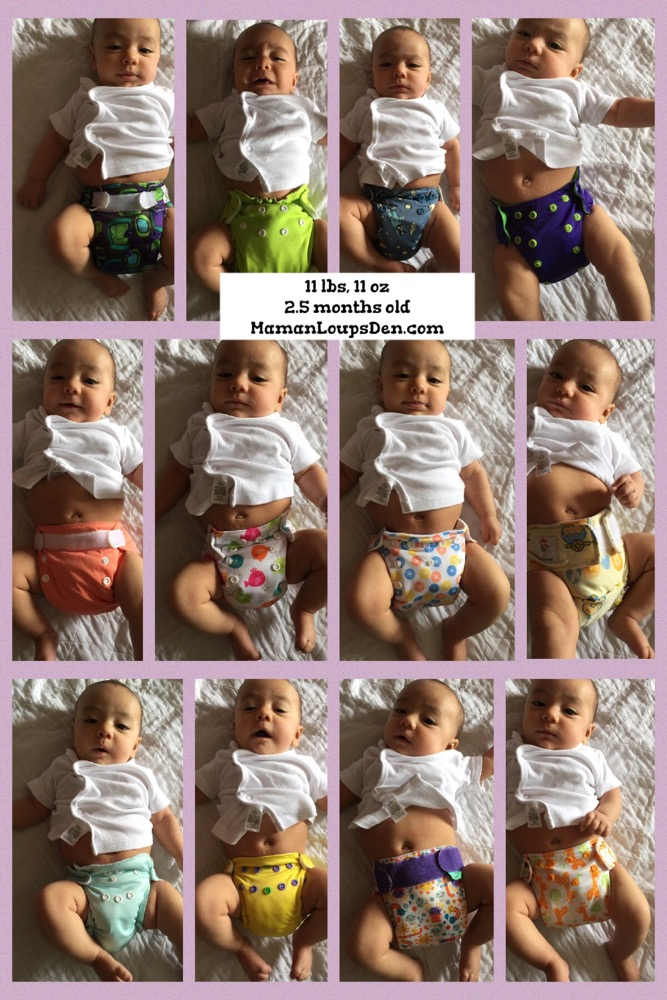 How do Newborn Diapers Fit at 12 lbs? - Maman Loup's Den