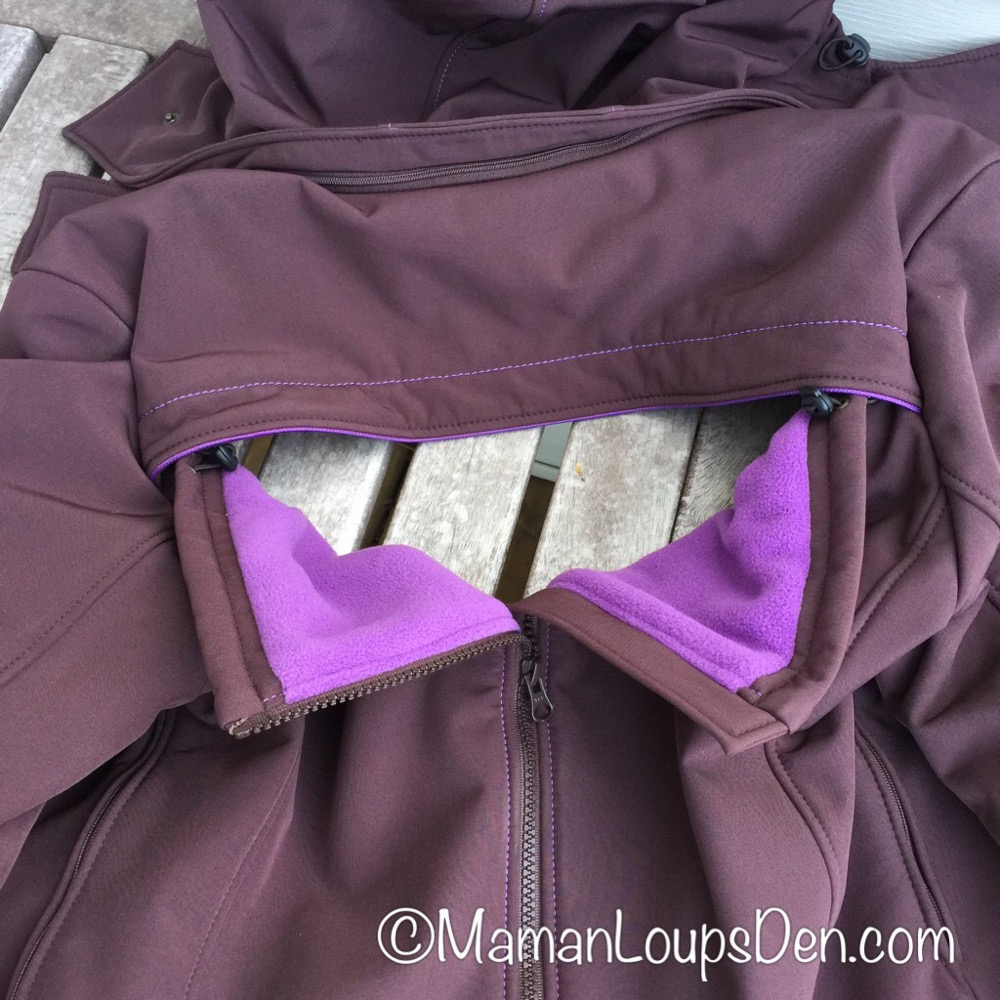 Liliputi Babywearing Mama Coat Review