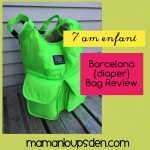 7 AM ENFANT Barcelona (Diaper) Bag Review