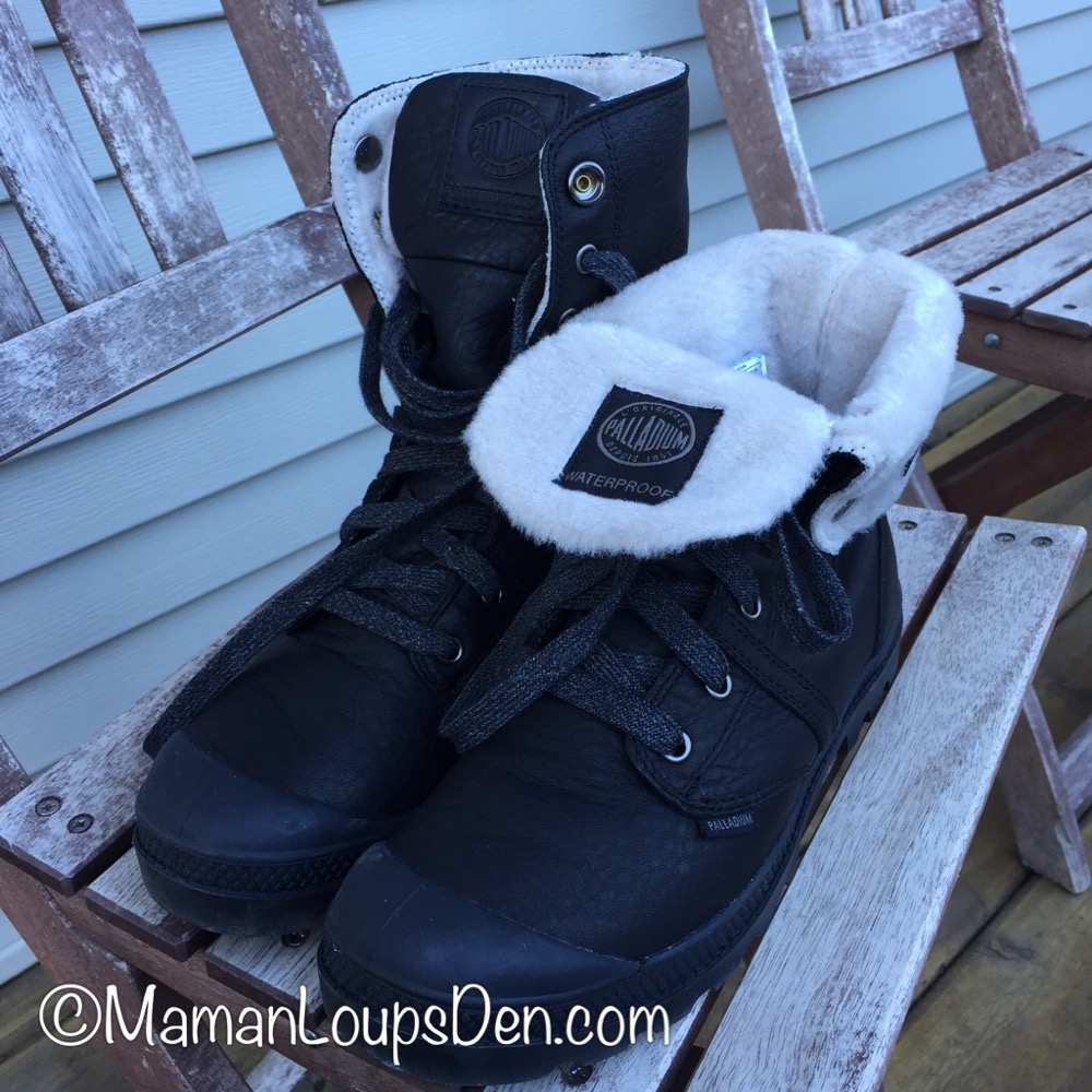 Palladium Boots Review ~ Footwear for Fabulous Moms and Kids {Maman Loup's Den)