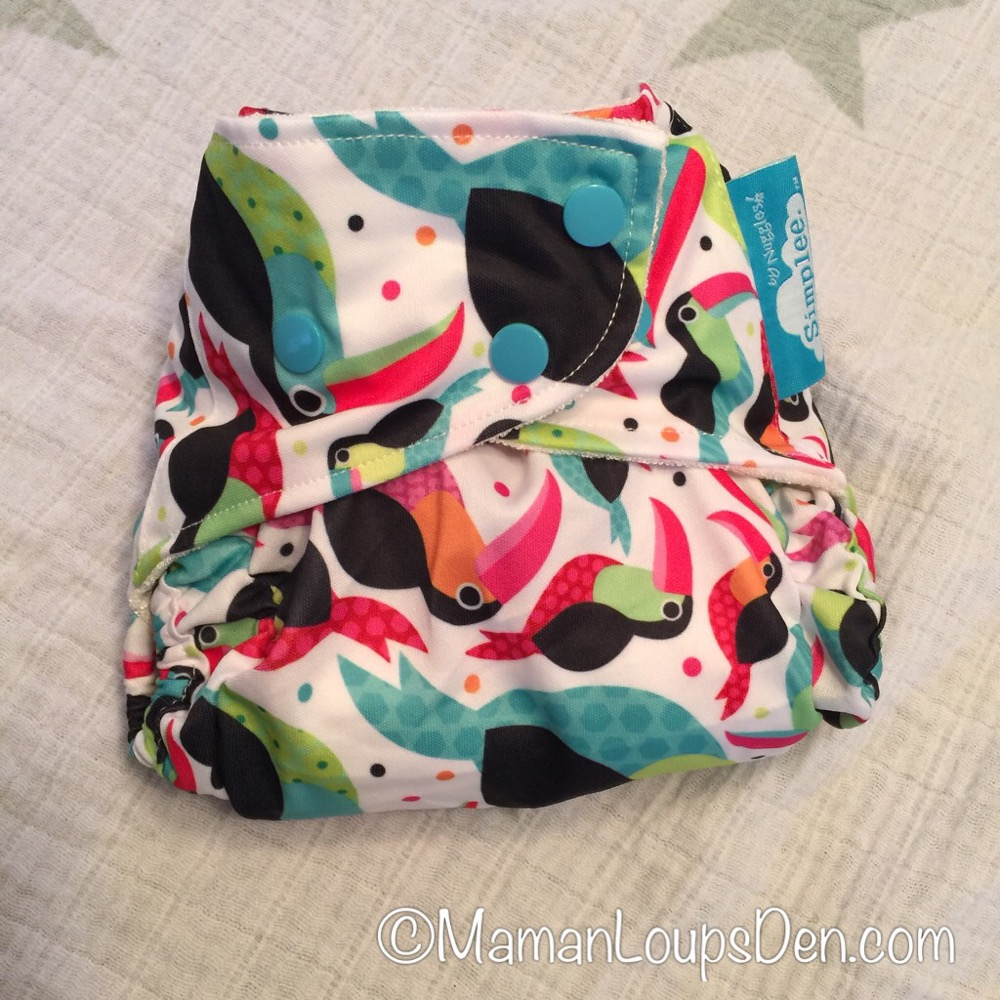 Nuggles Simplee & Tuck-Wrap-Go Cover Review ~ Maman Loup's Den