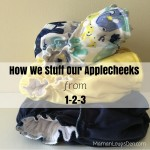 How We Stuff our AppleCheeks from 1-2-3!