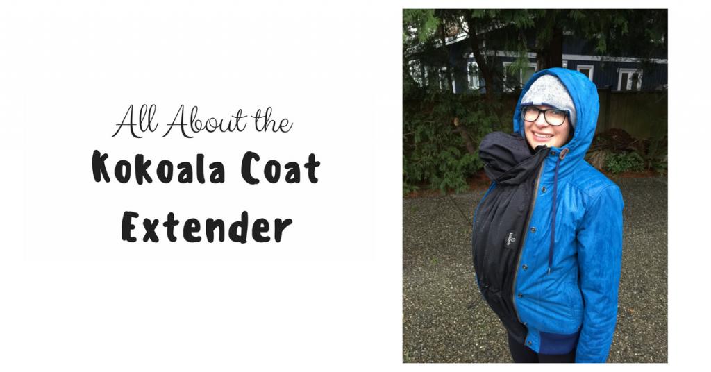 Kokoala Babywearing & Maternity Coat Extension Review