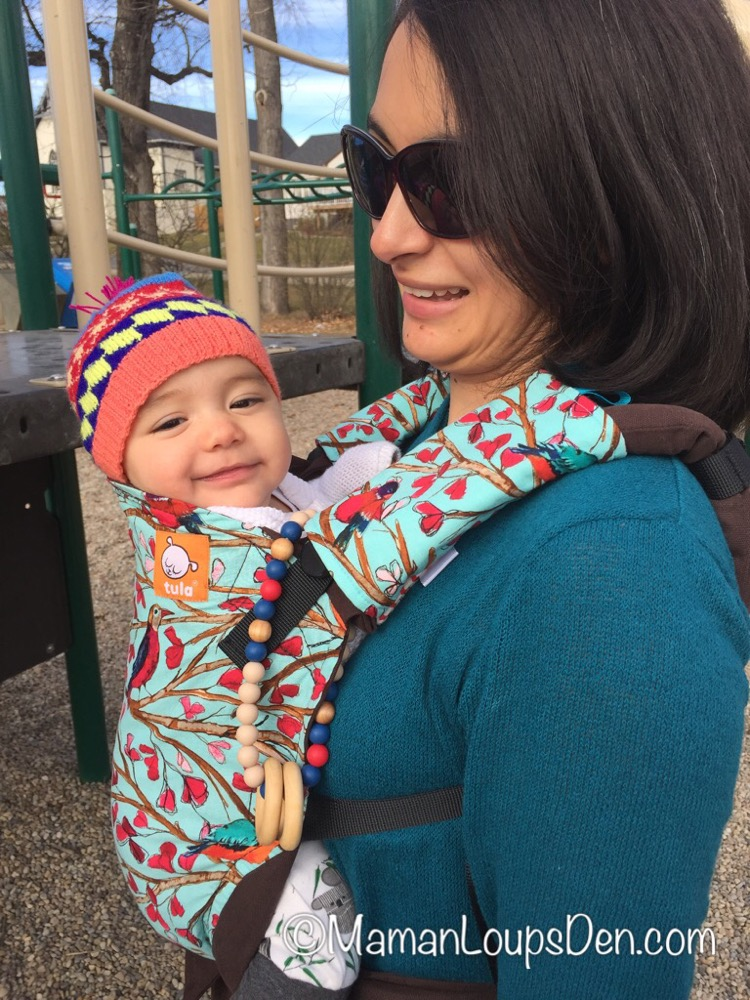 Tula Baby Carrier Review ~ Maman Loup's Den