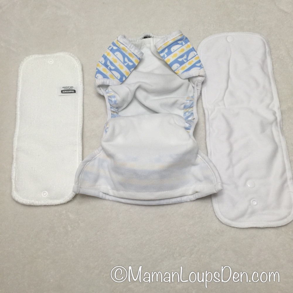 Thirsties One-Size Cloth Diapers Review ~ Maman Loup's Den