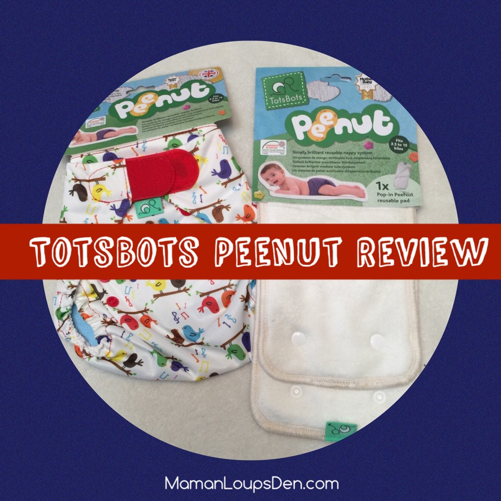 TotsBots Peenut All-in-Two Review ~ Maman Loup's Den