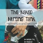 Naked Nursing Tank & Bamboo Breast Pads Review
