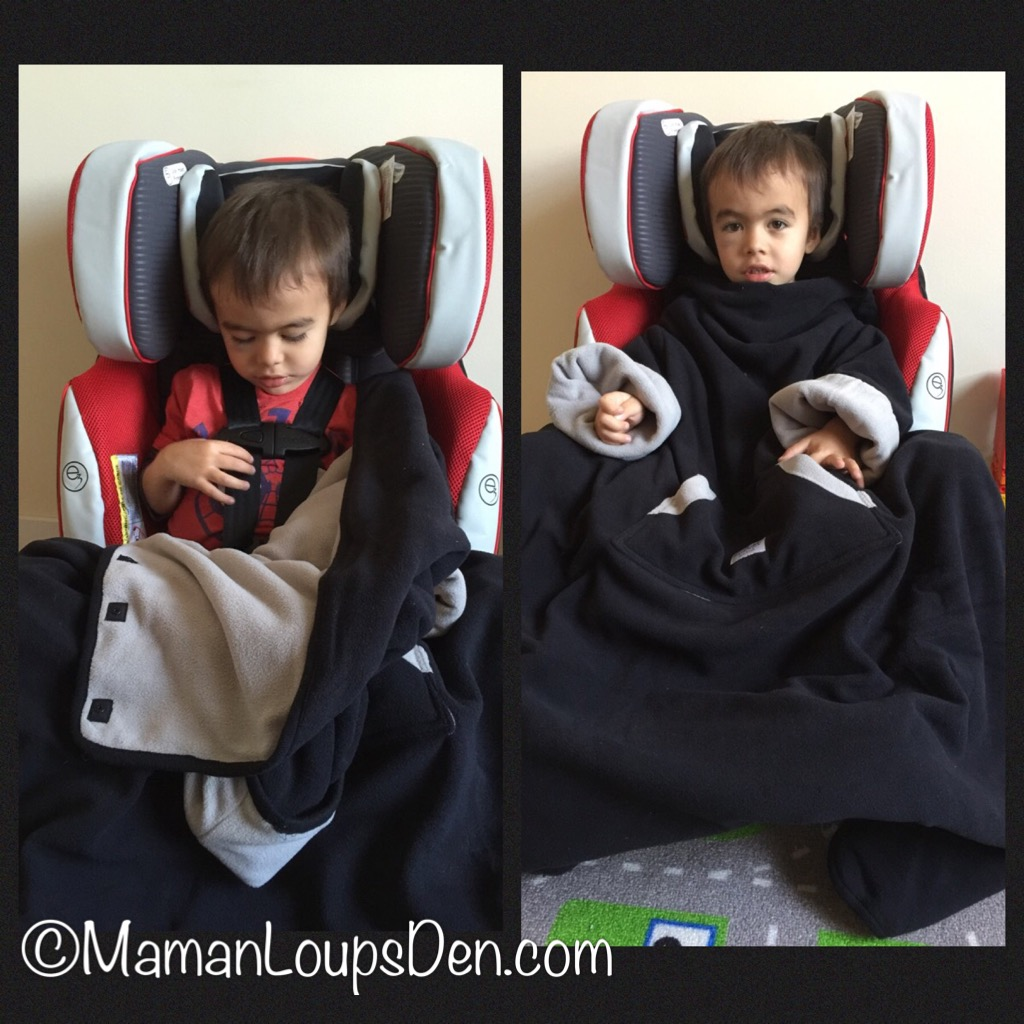 7 AM Enfant Easy Cover Winter Car Seat Solution ~ Maman Loup's Den