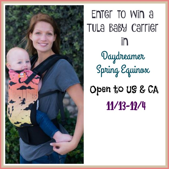 Tula Day Dreamer Spring Equinox Giveaway
