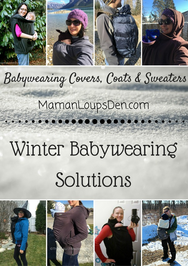 Winter Babywearing Solutions