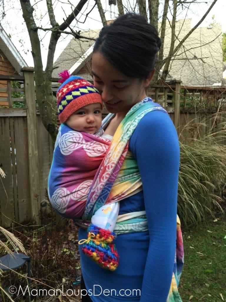 Pellicano Baby Wrap Review (2) ~ Maman Loup's Den
