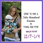 Travel Bug Tula Giveaway